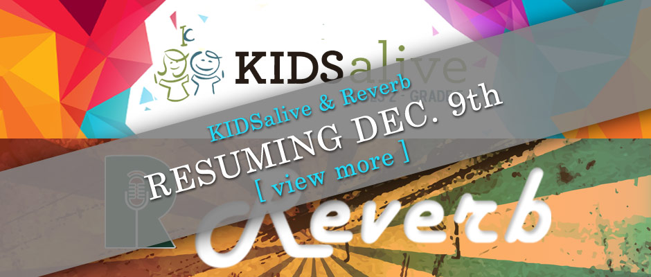 Reverb Youth Group resumes December 9th